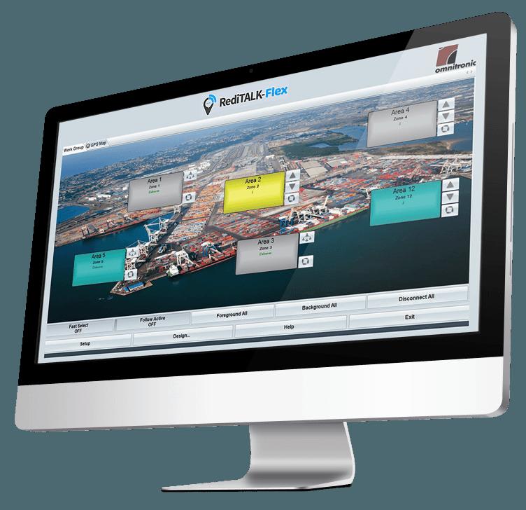 radio dispatch location services